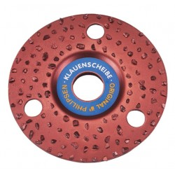 "Hoof Disc-Single Sided SCARCE 4.5"" 115mm"