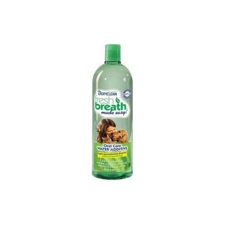 Tropiclean Fresh Breath Oral Care Water Additive 32oz