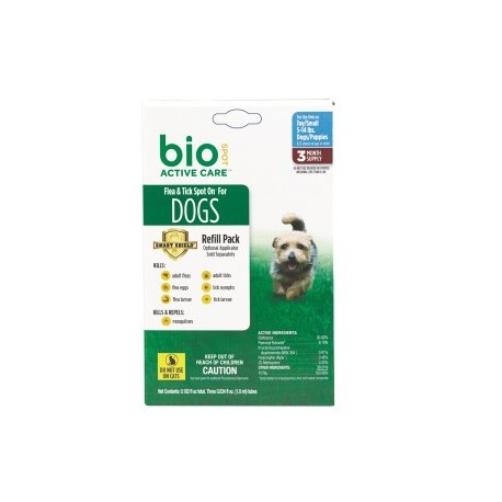 Bio Spot Active Care  Dog Spot On SMALL 5-14lbs 3month