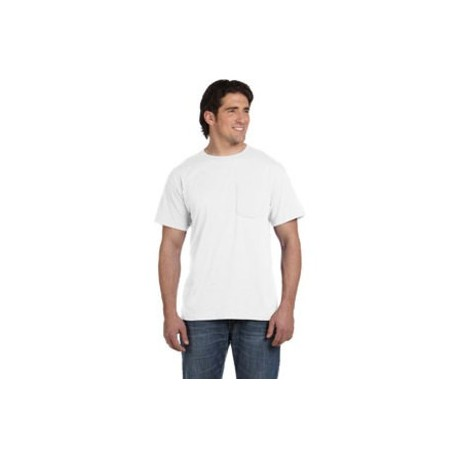 Fruit of Loom Pocket T Shirt White  5930P
