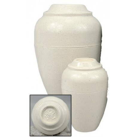 Jorgy Pet Cremation Urnee Urn small tan