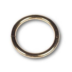 "Bull Nose Ring Small 2.5"" x  5/16"""