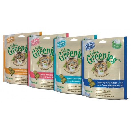 Feline Greenies - Assorted Flavors 6oz