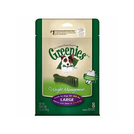 Greenies Weight Management Treat Paks Large 12ct