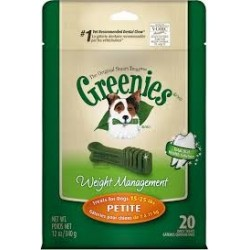 Greenies Weight Management Treat Paks Petite 20ct