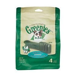 Greenies Dental Chews Treat Pak Jumbo 4ct