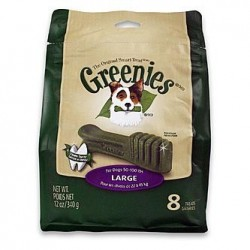 Greenies Dental Chews Treat Pak Large 8ct