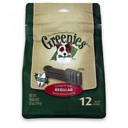 Greenies Dental Chews Treat Pak Regular 12ct