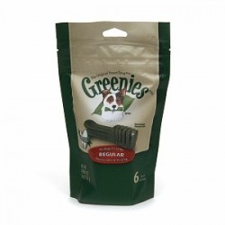 Greenies Dental Chews  Mini Treat Paks Regular 6ct