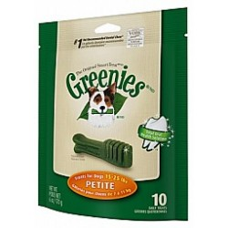 Greenies Dental Chews  Mini Treat Paks Petite 10ct