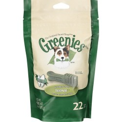 Greenies Dental Chews  Mini Treat Paks Teenie 22ct