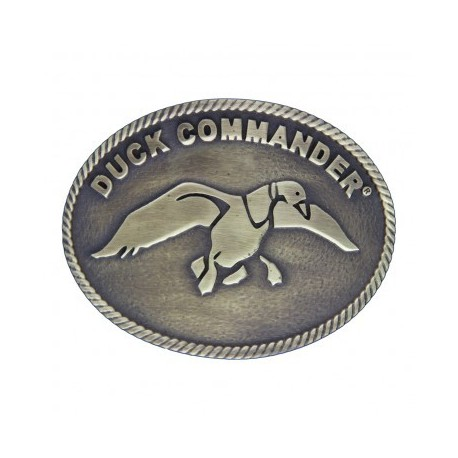 A301DC Duck Commander Small Oval Belt Buckle