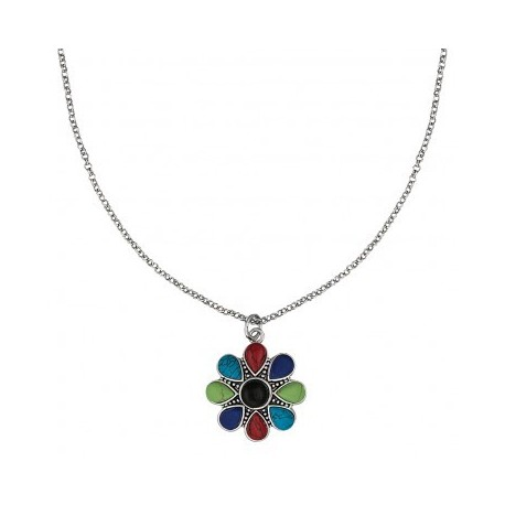 NC1487 Canyon Colors Concho Necklace
