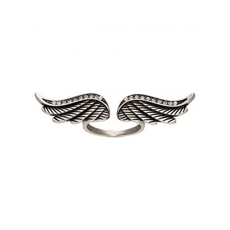 RG113R47 Rock 47 Winged Tattoo Art Ring