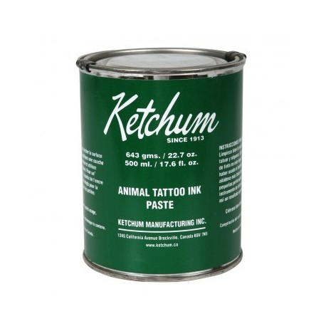Ketchum Tattoo Paste Green 22.7oz can