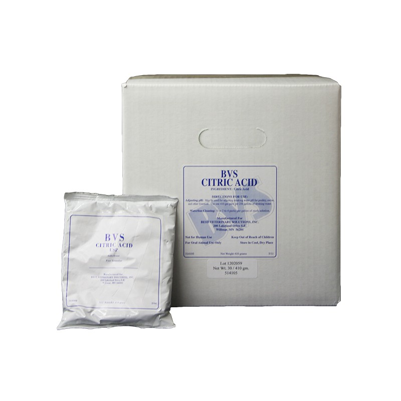 Citric Acid Is Used For Water System Maintenance While