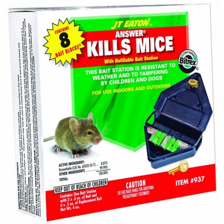 Mouse Bait Station Refillable 937