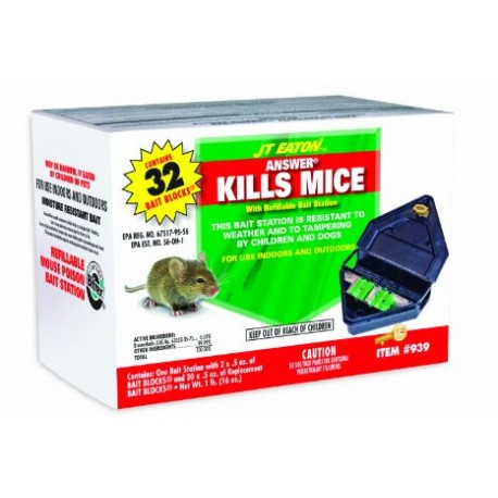 Mouse Bait Station Refillable 939