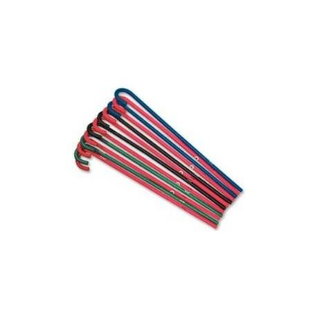 Flexible Cane pink, blue, black or green