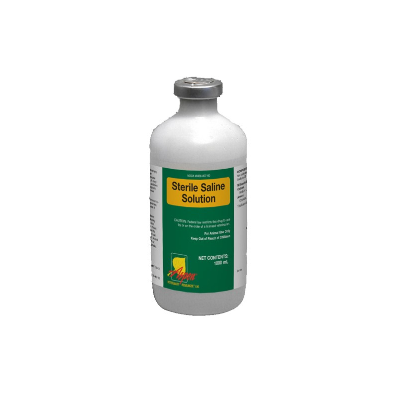 Saline Sterile Solution 9 Rx 500ml Heritage Animal Health