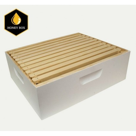 Harvest Lane Honey Medium Combo Box w/10 Frames/Foundations