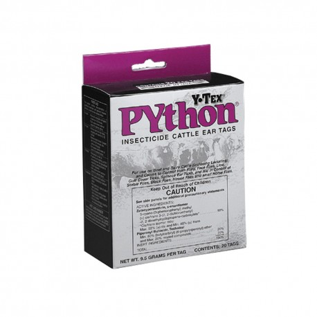 Python Insecticide Tags 20ct