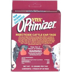 Optimizer Insecticide Tags 20ct