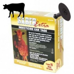 Saber Extra Insecticide Tags 20ct