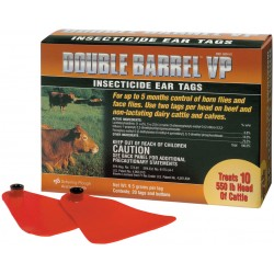 Double Barrel VP Insecticide Tags 20ct