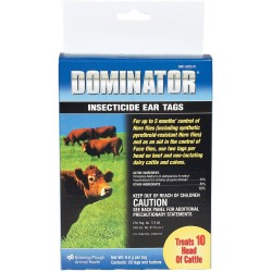 Dominator Insecticide Tags 20ct