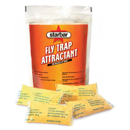Starbar Fly Trap Attractant 8 x 30gm