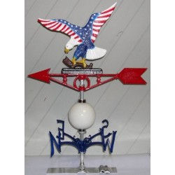 Weathervane Painted Eagle