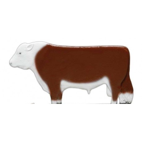 Weathervane Bull Hereford-Red