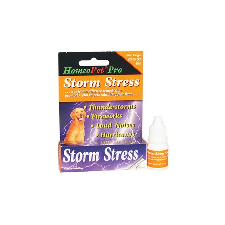 Homeopet Pro Storm Stress DOG 15ml 21-80lbs