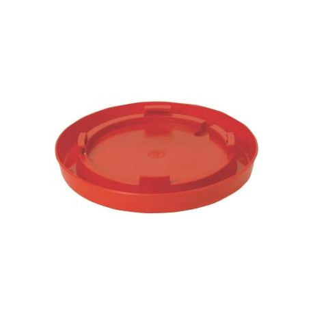 Nesting Poultry Fountain SnapOn Base RED 780