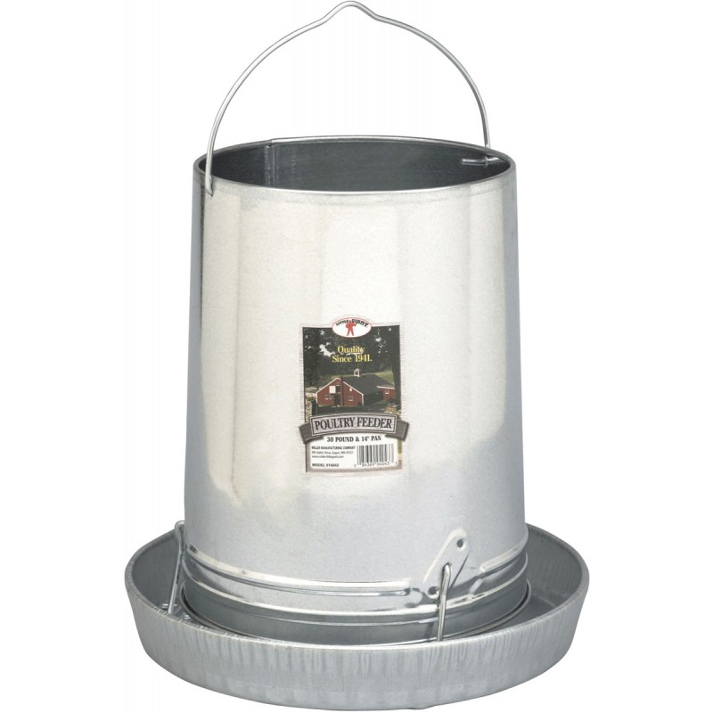 Poultry Little Giant Metal Hanging Feeder 12lb