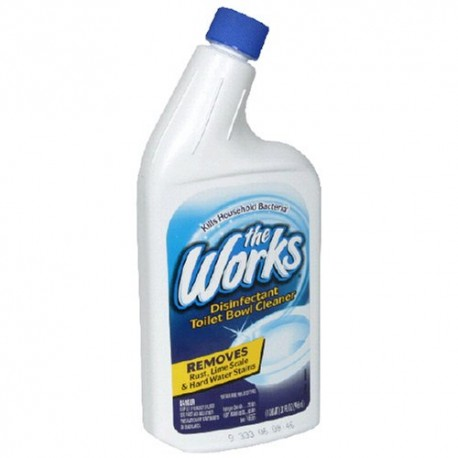 The Works Toilet Bowl Cleaner 24oz