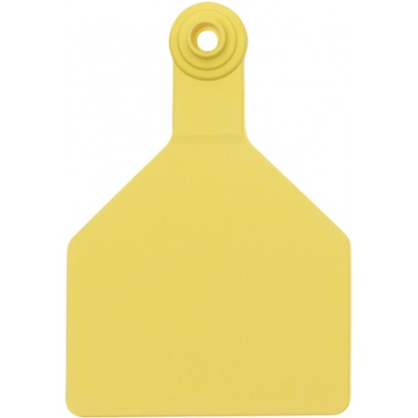 Z Tag No Tear Tags 2-piece  MAXI Yellow Blank 25ct