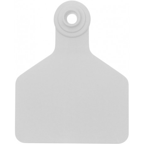 Z Tag No Tear Tags 2-piece  Large White Blank 25ct