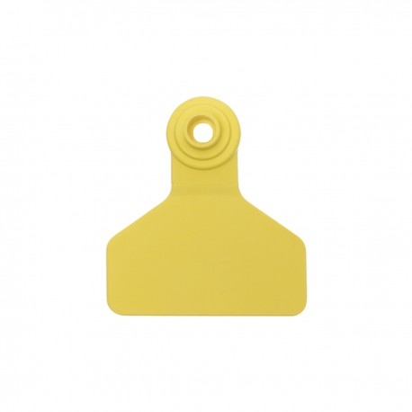 Z Tag No Tear Tags 2-piece  Medium Yellow Blank 25ct