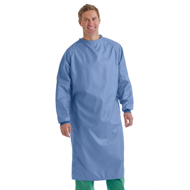 Medline Blockade Surgical Gown Blue Small
