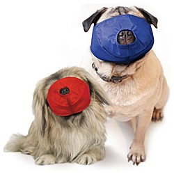 Four Flags Color Coded Quick Muzzle for Pugs, 2-Muzzle Set