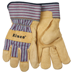 Kinco Pigskin LARGE Gloves 12pair 1917LG