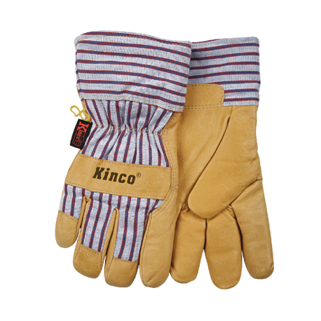 Kinco Lined Pigskin Glove XLARGE pair 1927LG 1927-XLG
