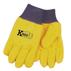 Kinco Chore Yellow Gloves LARGE pair 816-L