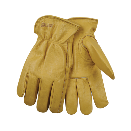 Kinco Unlined Grain Cowhide XLARGE Gloves pair 98-XL