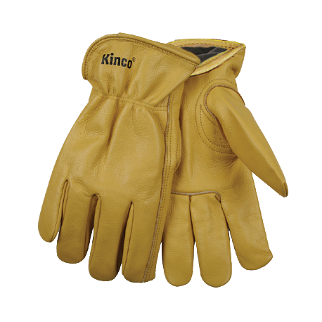 Kinco  Lined Grain Cowhide XLARGE gloves pair 98RL-XL