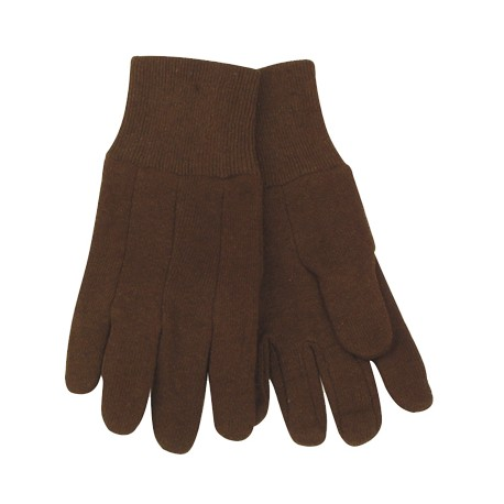 Kinco Brown Jersey Gloves YOUTH pair 820Y