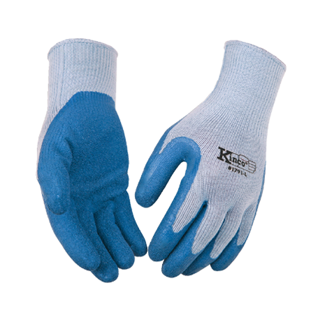 Kinco Coated Palm Gloves LARGE  pair 1791-L