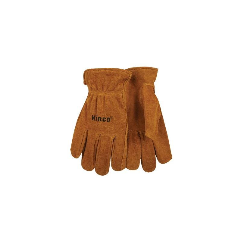 Kinco Unlined Split Cowhide Leather Driver Glove Small 50